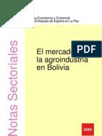 Agroindustria en Bolivia