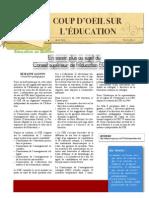 Cégep de l'Outaouais -- Coup d'oeil sur l'éducation 6(2) avril 2013