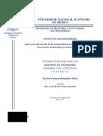 Aplicacion Del Metodo de Discontinuidades Interiores a Problemas Estructurales Dominados Por Flexion