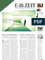 Attac-Ausgabe von 'Die Zeit'