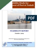 Tadadi Port Project Report