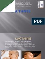 Presentacion Lactante