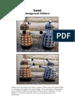 Dalek Amigurumi Pattern