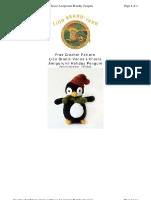 Little Bigfoot Lion - Free Pattern (Crochet For Children ... | 396x298