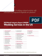 IBIS Report Wedding Services in the US Industry Report