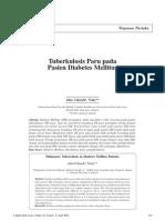 Tb pada DM tuberkulosis pada DM
