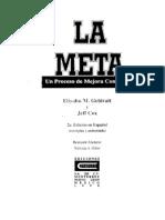 Goldratt La Meta