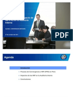 Riesgos Impacto de Irfs en Auditoria Interna 2011