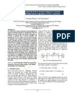 Power Flow Control In Power System Using FACT Device Thyristor Controlled Series Capacitor (TCSC)