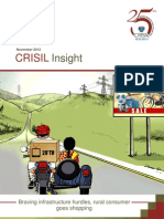 CRISIL Insight - Braving Infrastructure Hurdles, Rural Consumer Goes Shopping - Nov 2012