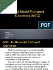 Multi-Modal Transport Operators (MTO)