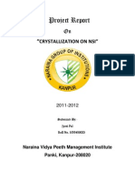 project report CRYSTALLIZATION ON NSI.docx