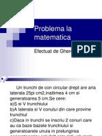 Problema La Matematica