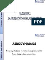 Basic Aerodynamics slide share