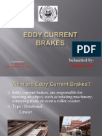 Ppt on Eddy Current Brakes