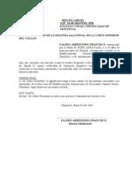 Copias Certificadas de Sentencia.