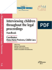 AAS 2011 Interviewing Children Throughout Legal Proceedings