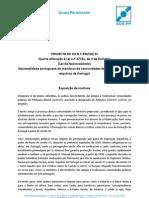 Nacionalidade portuguesa de judeus sefarditas expulsos (descendentes) | Projecto de lei do CDS-PP, 4-abr-2013