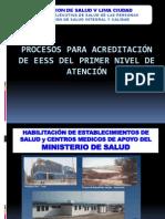 Habilitacion de Establecimientos de Salud21