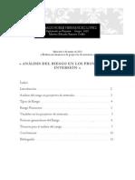 Analisis Del Riesgo en Los Proyectos