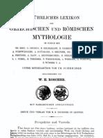 Roscher, WH - Ausfuhrliches Lexicon Der Griechischen Und Romischen Mythologie I (a-H)