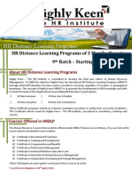 HRDLP 9 Brochure