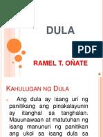 Ramel Dula