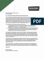 City of Revelstoke 2013 budget process public comments