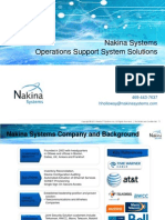 Nakina Systems  Brief 2013