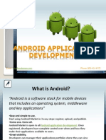 6460Android Application Development