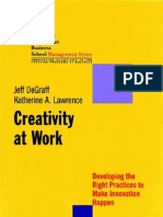 Jossey Bass - Creativity at Work
