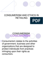 Ethics in Retailing