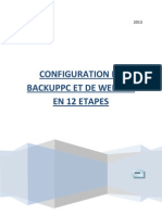 Backuppc Configuration and Webmin Configuration