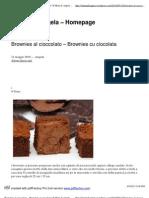 Brownies al cioccolato –Browniescuciocolata _ Il Menu di Angela - Homepage