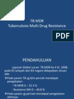Kuliah TB MDR Blok Respi