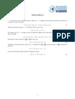 Ejercicio 3 Opción A Matemáticas Selectividad Junio 2012 Madrid