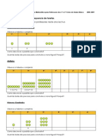 Algebra Padroes Regularidades Tarefas 2008-2009