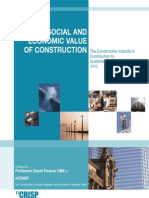 The Social & Economic Value of Construction - Crisp