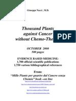 1000 de Plante in Terapia Cancerului Varianta Engleza