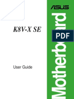 Manual placa de baza K8V-X-SE