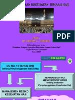 Pemeriksaan Kesehatan Jemaah Haji