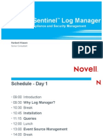 SentinelLogManager Day1 1 Intro