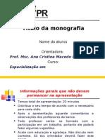 Modelo Apresentacao Monografia