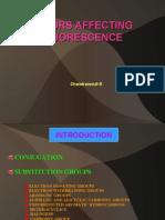 Factros Affecting Flurosence