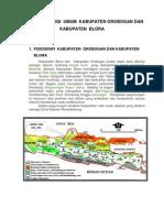 Geologi Regional Grobogan Dan Blora