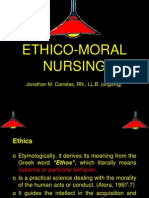 I. Ethico-Moral Nursing