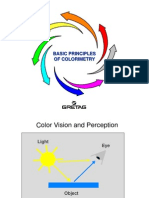 Basic of Colorimetry