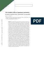 The modern tools of quantum mechanics