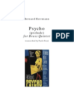 Psycho Score and Parts