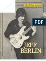 Jeff Berlin Chord Tone System